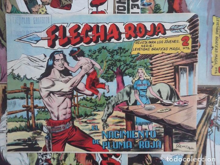 Tebeos: FLECHA ROJA ORIGINAL COMPLETA 1 AL 79 - 1962 MAGA - EXCELENTE ESTADO, VER PORTADAS - Foto 39 - 103978683