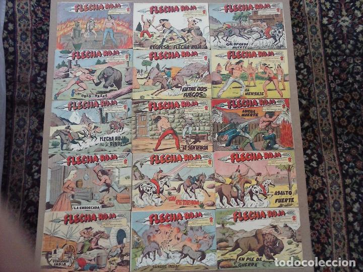 Tebeos: FLECHA ROJA ORIGINAL COMPLETA 1 AL 79 - 1962 MAGA - EXCELENTE ESTADO, VER PORTADAS - Foto 43 - 103978683