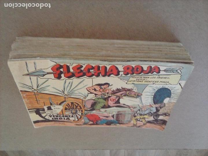Tebeos: FLECHA ROJA ORIGINAL COMPLETA 1 AL 79 - 1962 MAGA - EXCELENTE ESTADO, VER PORTADAS - Foto 47 - 103978683
