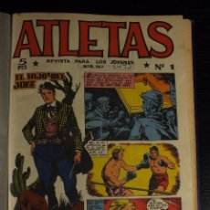 Tebeos: ATLETAS, MAGA, ORIGINAL, COLECCION COMPLETA 1 AL 32 A FALTA DE 7. IMPRESIONANTE COLECCIÓN.. Lote 104033415