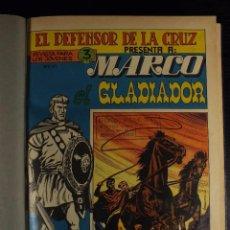 Tebeos: MARCO GLADIADOR + QUINTIN PAJECILLO VALIENTE, MAGA, COLECCION COMPLETA AMBAS. EXCEPCIONAL!!!!!!!!. Lote 104084135