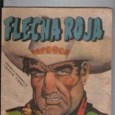 Tebeos: FLECHA ROJA. Nº 19. CONTIENE EL SUPLEMENTO DE SAHIB TIGRE. MAGA.SA. Lote 104319735