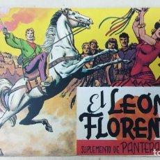 Tebeos: EL LEON DE FLORENCIA ( SUPLEMENTO PANTERA NEGRA ). Lote 120434255