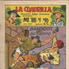 Tebeos: MI TIO Y YO SERIE LA CUADRILLA EDITORIAL MAGA Nº 17. Lote 104881299