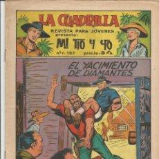 Tebeos: MI TIO Y YO SERIE LA CUADRILLA EDITORIAL MAGA Nº 22. Lote 104881431