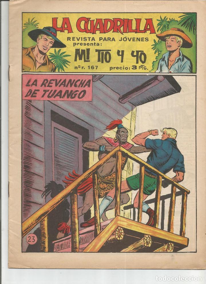 MI TIO Y YO SERIE LA CUADRILLA EDITORIAL MAGA Nº 23 (Tebeos y Comics - Maga - Otros)