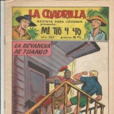 Tebeos: MI TIO Y YO SERIE LA CUADRILLA EDITORIAL MAGA Nº 23. Lote 104881459