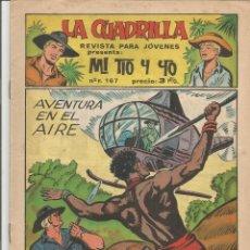 Tebeos: MI TIO Y YO SERIE LA CUADRILLA EDITORIAL MAGA Nº 26. Lote 104881531