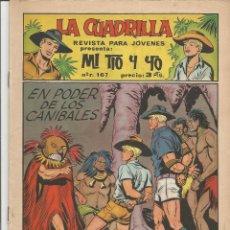 Tebeos: MI TIO Y YO SERIE LA CUADRILLA EDITORIAL MAGA Nº 27. Lote 104881595