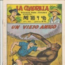 Tebeos: MI TIO Y YO SERIE LA CUADRILLA EDITORIAL MAGA Nº 31. Lote 104881699