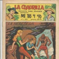 Tebeos: MI TIO Y YO SERIE LA CUADRILLA EDITORIAL MAGA Nº 48. Lote 104881951