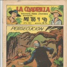 Tebeos: MI TIO Y YO SERIE LA CUADRILLA EDITORIAL MAGA Nº 49. Lote 104882003