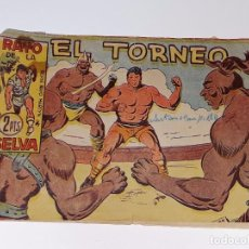 Tebeos: ANTIGUO COMIC RAYO DE LA SELVA SERIE RAYO MARTIN Nº 73 - EL TORNEO - EDITORIAL MAGA AÑO 1960. Lote 105004451