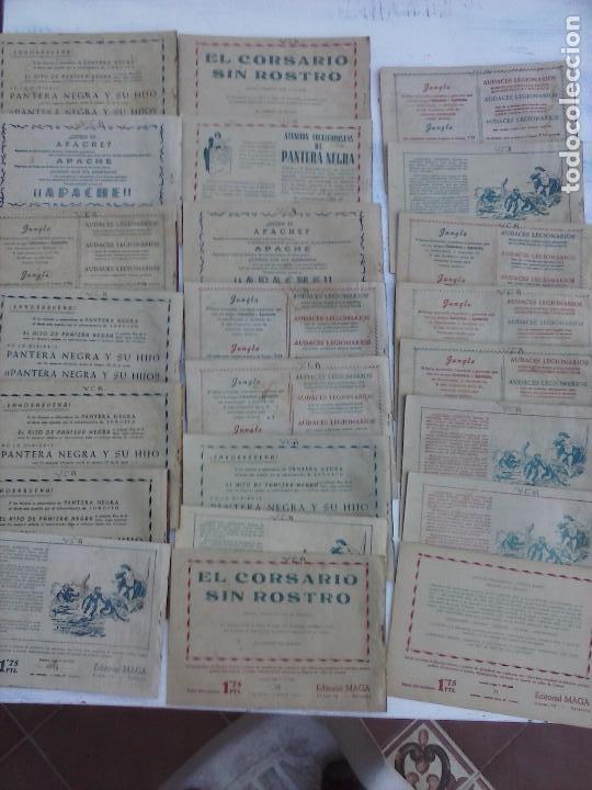 Tebeos: EL DUQUE NEGRO ORIGINAL COMPLETA 1 AL 42 MAGA 1958 - JOSÉ ORTIZ - MANUEL GAGO - VER PORTADAS - Foto 7 - 105055615