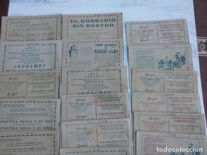 Tebeos: EL DUQUE NEGRO ORIGINAL COMPLETA 1 AL 42 MAGA 1958 - JOSÉ ORTIZ - MANUEL GAGO - VER PORTADAS - Foto 8 - 105055615