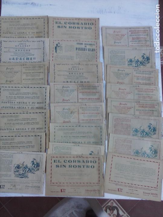 Tebeos: EL DUQUE NEGRO ORIGINAL COMPLETA 1 AL 42 MAGA 1958 - JOSÉ ORTIZ - MANUEL GAGO - VER PORTADAS - Foto 10 - 105055615