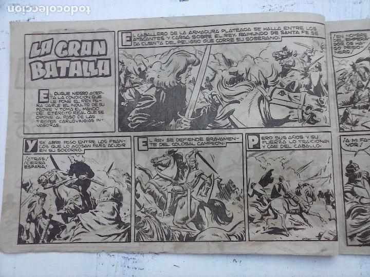 Tebeos: EL DUQUE NEGRO ORIGINAL COMPLETA 1 AL 42 MAGA 1958 - JOSÉ ORTIZ - MANUEL GAGO - VER PORTADAS - Foto 25 - 105055615