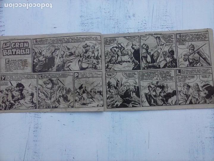 Tebeos: EL DUQUE NEGRO ORIGINAL COMPLETA 1 AL 42 MAGA 1958 - JOSÉ ORTIZ - MANUEL GAGO - VER PORTADAS - Foto 26 - 105055615