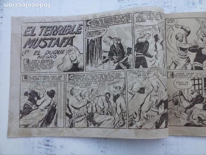 Tebeos: EL DUQUE NEGRO ORIGINAL COMPLETA 1 AL 42 MAGA 1958 - JOSÉ ORTIZ - MANUEL GAGO - VER PORTADAS - Foto 28 - 105055615