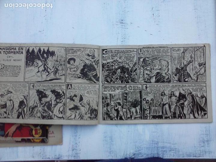 Tebeos: EL DUQUE NEGRO ORIGINAL COMPLETA 1 AL 42 MAGA 1958 - JOSÉ ORTIZ - MANUEL GAGO - VER PORTADAS - Foto 29 - 105055615