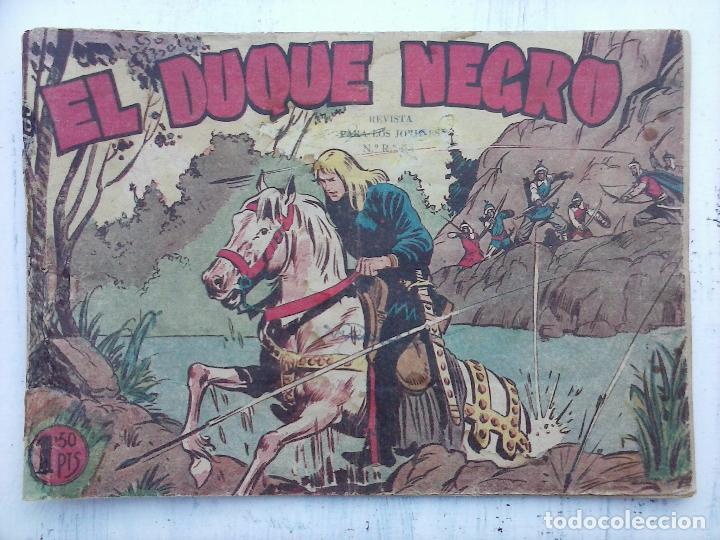 Tebeos: EL DUQUE NEGRO ORIGINAL COMPLETA 1 AL 42 MAGA 1958 - JOSÉ ORTIZ - MANUEL GAGO - VER PORTADAS - Foto 35 - 105055615