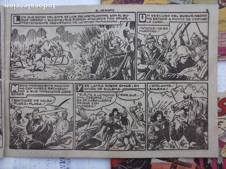 Tebeos: EL DUQUE NEGRO ORIGINAL COMPLETA 1 AL 42 MAGA 1958 - JOSÉ ORTIZ - MANUEL GAGO - VER PORTADAS - Foto 39 - 105055615