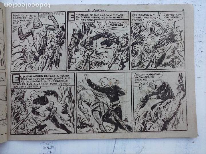 Tebeos: EL DUQUE NEGRO ORIGINAL COMPLETA 1 AL 42 MAGA 1958 - JOSÉ ORTIZ - MANUEL GAGO - VER PORTADAS - Foto 40 - 105055615