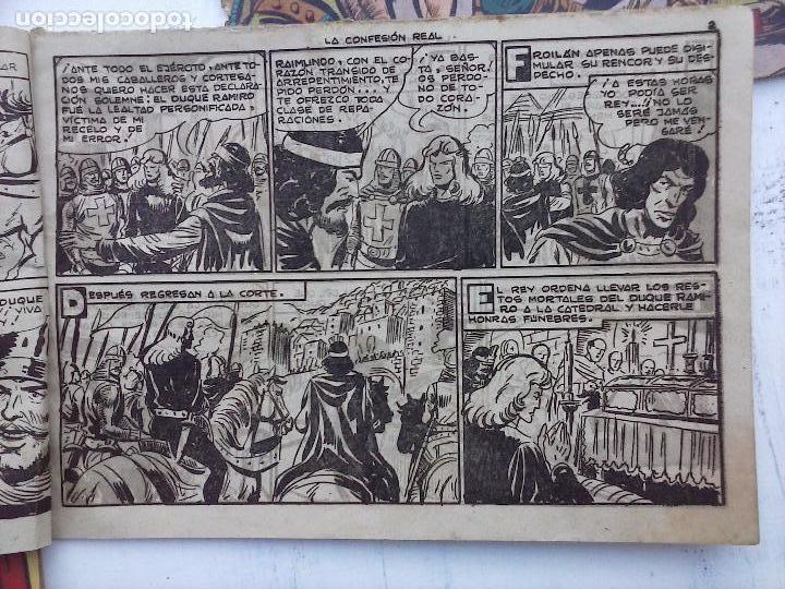 Tebeos: EL DUQUE NEGRO ORIGINAL COMPLETA 1 AL 42 MAGA 1958 - JOSÉ ORTIZ - MANUEL GAGO - VER PORTADAS - Foto 45 - 105055615