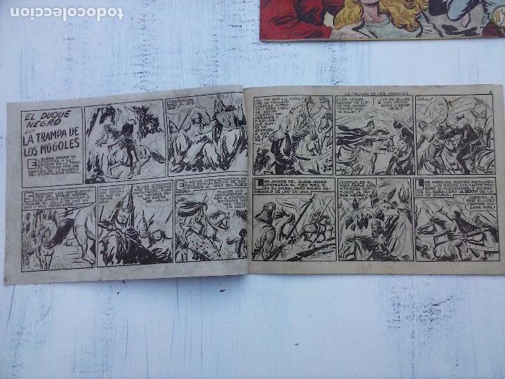 Tebeos: EL DUQUE NEGRO ORIGINAL COMPLETA 1 AL 42 MAGA 1958 - JOSÉ ORTIZ - MANUEL GAGO - VER PORTADAS - Foto 46 - 105055615