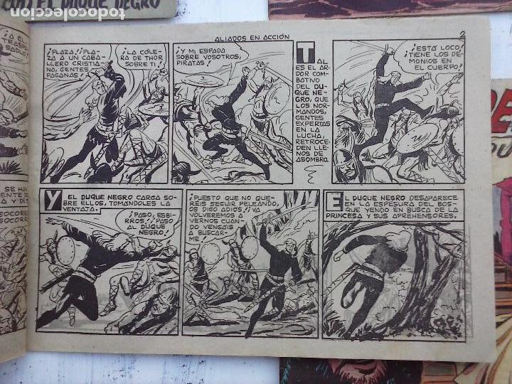 Tebeos: EL DUQUE NEGRO ORIGINAL COMPLETA 1 AL 42 MAGA 1958 - JOSÉ ORTIZ - MANUEL GAGO - VER PORTADAS - Foto 51 - 105055615