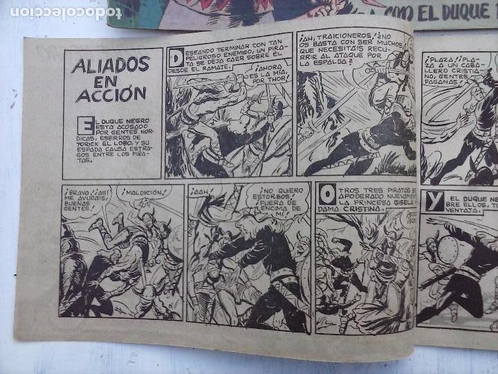 Tebeos: EL DUQUE NEGRO ORIGINAL COMPLETA 1 AL 42 MAGA 1958 - JOSÉ ORTIZ - MANUEL GAGO - VER PORTADAS - Foto 52 - 105055615