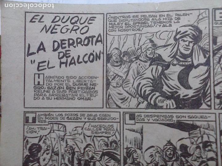 Tebeos: EL DUQUE NEGRO ORIGINAL COMPLETA 1 AL 42 MAGA 1958 - JOSÉ ORTIZ - MANUEL GAGO - VER PORTADAS - Foto 58 - 105055615