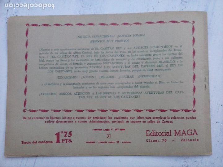 Tebeos: EL DUQUE NEGRO ORIGINAL COMPLETA 1 AL 42 MAGA 1958 - JOSÉ ORTIZ - MANUEL GAGO - VER PORTADAS - Foto 59 - 105055615