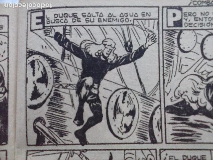 Tebeos: EL DUQUE NEGRO ORIGINAL COMPLETA 1 AL 42 MAGA 1958 - JOSÉ ORTIZ - MANUEL GAGO - VER PORTADAS - Foto 60 - 105055615