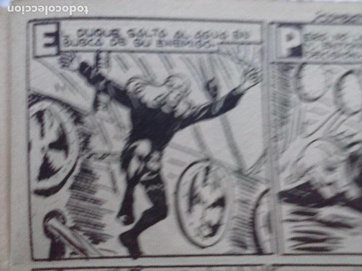 Tebeos: EL DUQUE NEGRO ORIGINAL COMPLETA 1 AL 42 MAGA 1958 - JOSÉ ORTIZ - MANUEL GAGO - VER PORTADAS - Foto 61 - 105055615