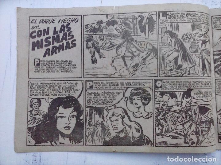 Tebeos: EL DUQUE NEGRO ORIGINAL COMPLETA 1 AL 42 MAGA 1958 - JOSÉ ORTIZ - MANUEL GAGO - VER PORTADAS - Foto 65 - 105055615