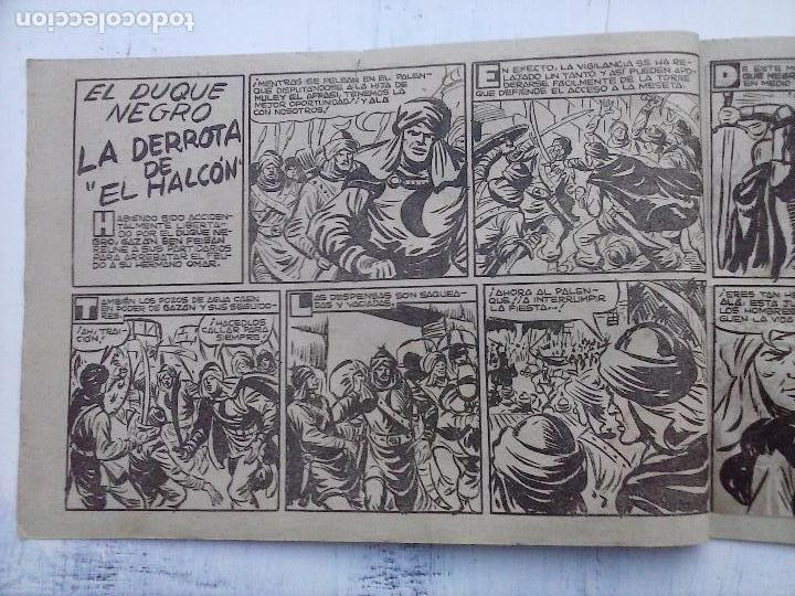 Tebeos: EL DUQUE NEGRO ORIGINAL COMPLETA 1 AL 42 MAGA 1958 - JOSÉ ORTIZ - MANUEL GAGO - VER PORTADAS - Foto 66 - 105055615