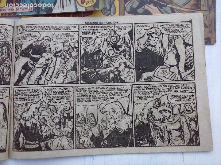 Tebeos: EL DUQUE NEGRO ORIGINAL COMPLETA 1 AL 42 MAGA 1958 - JOSÉ ORTIZ - MANUEL GAGO - VER PORTADAS - Foto 67 - 105055615