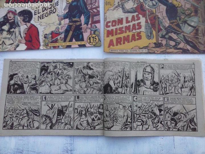 Tebeos: EL DUQUE NEGRO ORIGINAL COMPLETA 1 AL 42 MAGA 1958 - JOSÉ ORTIZ - MANUEL GAGO - VER PORTADAS - Foto 69 - 105055615