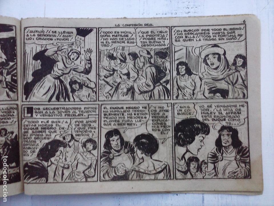 Tebeos: EL DUQUE NEGRO ORIGINAL COMPLETA 1 AL 42 MAGA 1958 - JOSÉ ORTIZ - MANUEL GAGO - VER PORTADAS - Foto 70 - 105055615