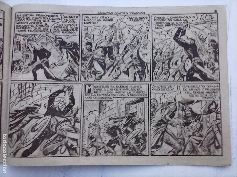 Tebeos: EL DUQUE NEGRO ORIGINAL COMPLETA 1 AL 42 MAGA 1958 - JOSÉ ORTIZ - MANUEL GAGO - VER PORTADAS - Foto 72 - 105055615