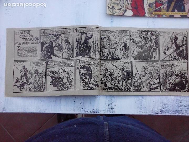 Tebeos: EL DUQUE NEGRO ORIGINAL COMPLETA 1 AL 42 MAGA 1958 - JOSÉ ORTIZ - MANUEL GAGO - VER PORTADAS - Foto 81 - 105055615
