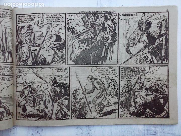 Tebeos: EL DUQUE NEGRO ORIGINAL COMPLETA 1 AL 42 MAGA 1958 - JOSÉ ORTIZ - MANUEL GAGO - VER PORTADAS - Foto 82 - 105055615
