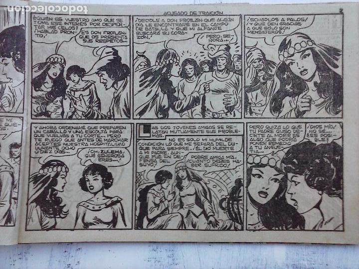 Tebeos: EL DUQUE NEGRO ORIGINAL COMPLETA 1 AL 42 MAGA 1958 - JOSÉ ORTIZ - MANUEL GAGO - VER PORTADAS - Foto 87 - 105055615