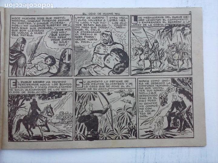 Tebeos: EL DUQUE NEGRO ORIGINAL COMPLETA 1 AL 42 MAGA 1958 - JOSÉ ORTIZ - MANUEL GAGO - VER PORTADAS - Foto 89 - 105055615