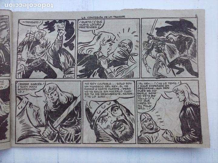 Tebeos: EL DUQUE NEGRO ORIGINAL COMPLETA 1 AL 42 MAGA 1958 - JOSÉ ORTIZ - MANUEL GAGO - VER PORTADAS - Foto 93 - 105055615