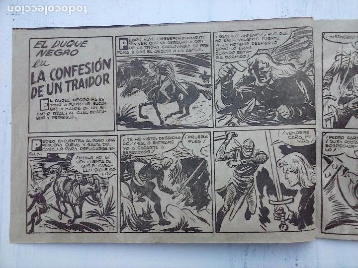 Tebeos: EL DUQUE NEGRO ORIGINAL COMPLETA 1 AL 42 MAGA 1958 - JOSÉ ORTIZ - MANUEL GAGO - VER PORTADAS - Foto 94 - 105055615