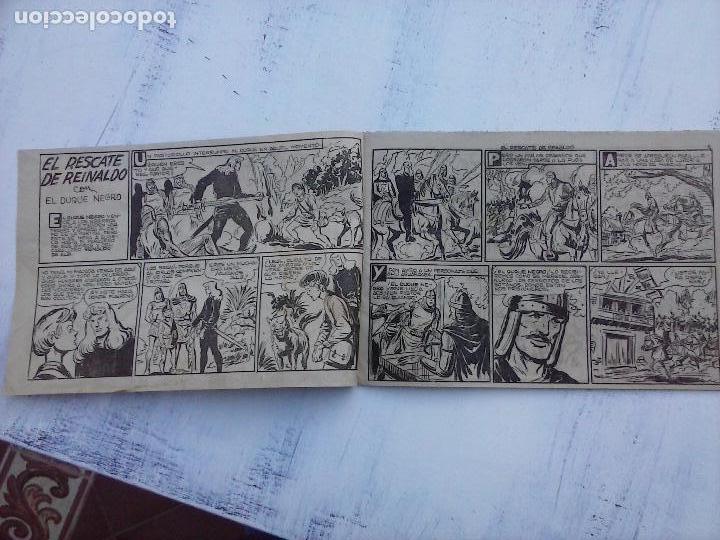 Tebeos: EL DUQUE NEGRO ORIGINAL COMPLETA 1 AL 42 MAGA 1958 - JOSÉ ORTIZ - MANUEL GAGO - VER PORTADAS - Foto 97 - 105055615