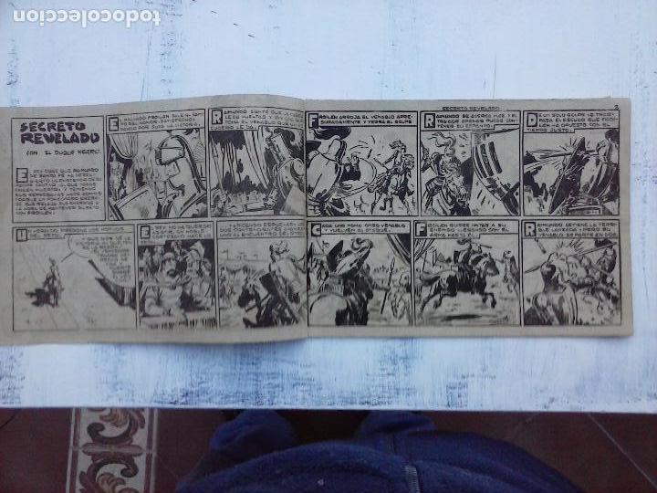 Tebeos: EL DUQUE NEGRO ORIGINAL COMPLETA 1 AL 42 MAGA 1958 - JOSÉ ORTIZ - MANUEL GAGO - VER PORTADAS - Foto 98 - 105055615