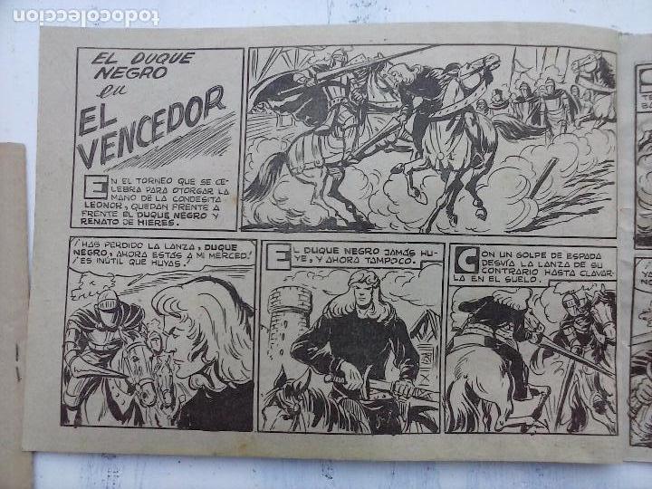 Tebeos: EL DUQUE NEGRO ORIGINAL COMPLETA 1 AL 42 MAGA 1958 - JOSÉ ORTIZ - MANUEL GAGO - VER PORTADAS - Foto 100 - 105055615